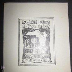 Arte: EX LIBRIS - M.PARRIN (X-1084). Lote 43695970