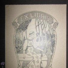 Arte: EX LIBRIS - MARIANA PUEYO - CASTELLO (X-1076). Lote 43696264