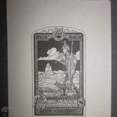 Arte: EX LIBRIS - MEIN BUCH - H-EGGIMANN (X-1083). Lote 43696377