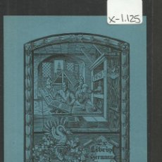Arte: EX LIBRIS - GERMAN JUNGE - H.J. (X-1125). Lote 48268132