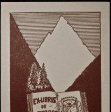 Arte: BOOKPLATE. EX-LIBRIS PARA V. TORRES. Lote 50194459
