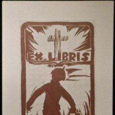 Arte: BOOKPLATE. EX-LIBRIS PARA M. MONTAÑA. Lote 50194551