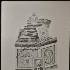 Arte: BOOKPLATE. EX-LIBRIS PARA CARLOS ALBERTO FERREIRA. Lote 50194618