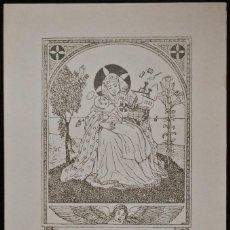 Arte: BOOKPLATE. EX-LIBRIS PARA FREDERICH J. MIRACLE. Lote 50194692