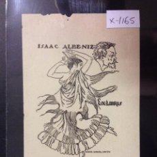 Arte: EX LIBRIS - ISAAC ALBENIZ - DIBUJO ISMAEL SMITH - (X- 1165). Lote 52886878