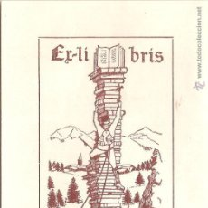 Arte: EX-LIBRIS DE JOAN BATLLE I TEJEDOR PER JOSEPH BATLLE - 1924. Lote 52890991