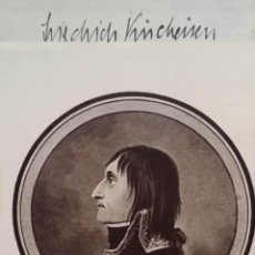 Arte: J.J.ROUSSEAU: CARTAS SELECCIONADAS / EX-LIBRIS Y FIRMA DEL HISTORIADOR FRIEDRICH MAX KIRCHEISEN. Lote 52907197