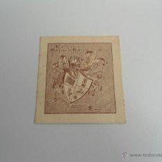 Arte: EX LIBRIS - RAFAEL MASSO - PERTRANSIIT BENEFACIENDO - ORIGINAL. Lote 54749678