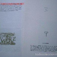 Arte: EX-LIBRIS DE D. A. BUENO DE MESQUITA. NUMERADO.. Lote 55554696