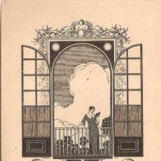 Arte: EX-LIBRIS DE JOSEP TRIADO I MALLOL PER A MARIA TRIADO - 1917. Lote 55572496