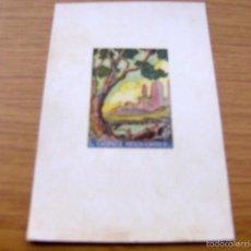 Arte: EX LIBRIS DE L. GOMEZ HERNANDEZ - FIRMADO VIDAL , DIBUJANTE ILUSTRADOR - 15 X 10 CM.. Lote 55883656