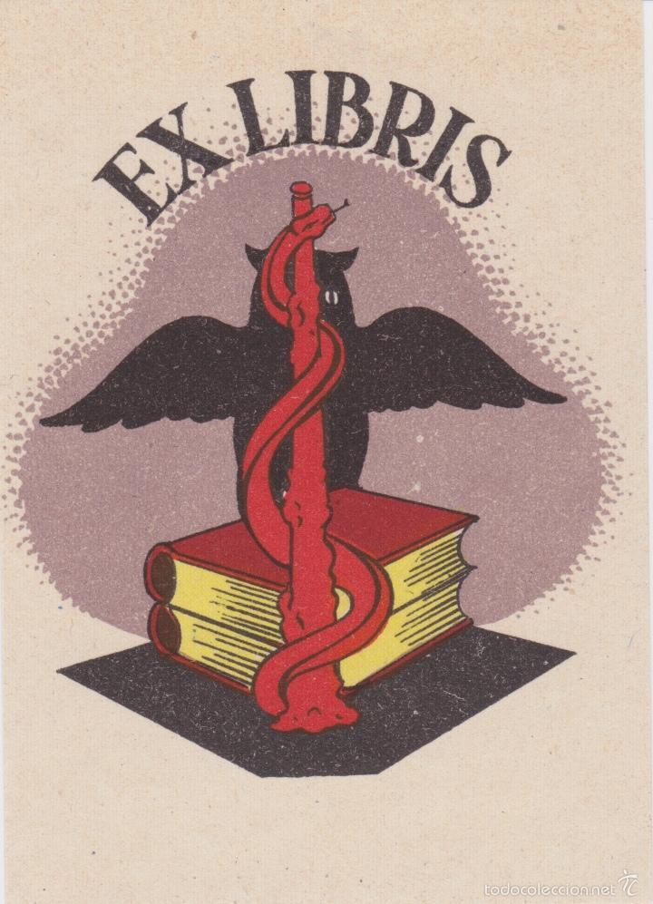Arte: 12 EXLIBRIS (MEDICINA, FARMACIA, COMERCIO, PINTURA, CABALLOS, PAISAJES, LECTURA, ETC... - Foto 2 - 57305371