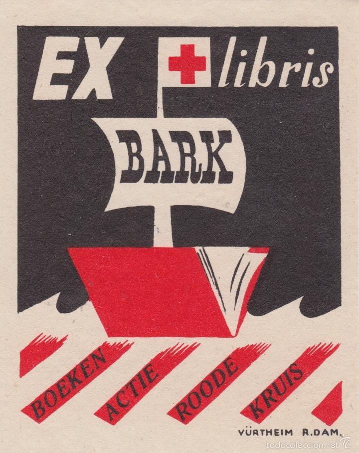 Arte: 12 EXLIBRIS (MEDICINA, FARMACIA, COMERCIO, PINTURA, CABALLOS, PAISAJES, LECTURA, ETC... - Foto 3 - 57305371