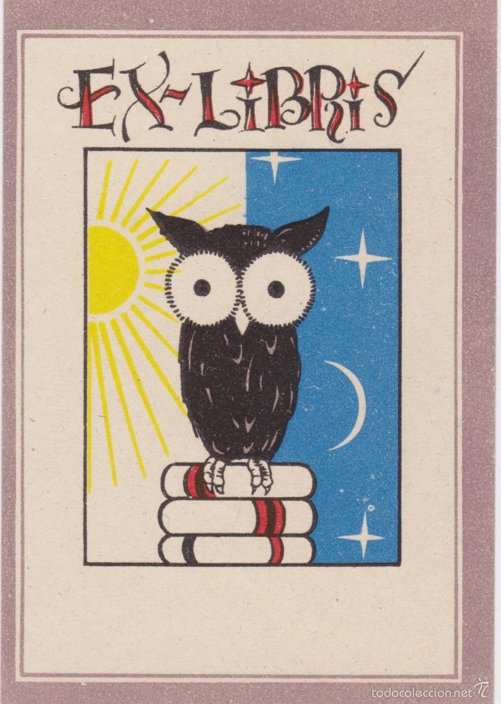 Arte: 12 EXLIBRIS (MEDICINA, FARMACIA, COMERCIO, PINTURA, CABALLOS, PAISAJES, LECTURA, ETC... - Foto 7 - 57305371
