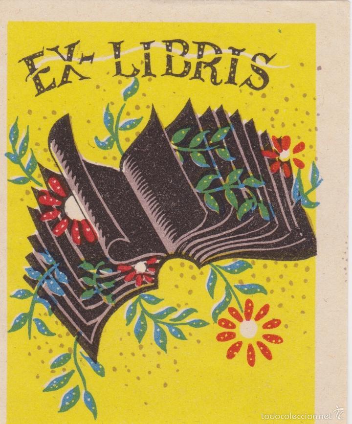 Arte: 12 EXLIBRIS (MEDICINA, FARMACIA, COMERCIO, PINTURA, CABALLOS, PAISAJES, LECTURA, ETC... - Foto 9 - 57305371