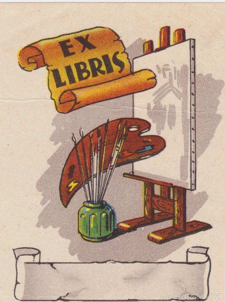 Arte: 12 EXLIBRIS (MEDICINA, FARMACIA, COMERCIO, PINTURA, CABALLOS, PAISAJES, LECTURA, ETC... - Foto 10 - 57305371