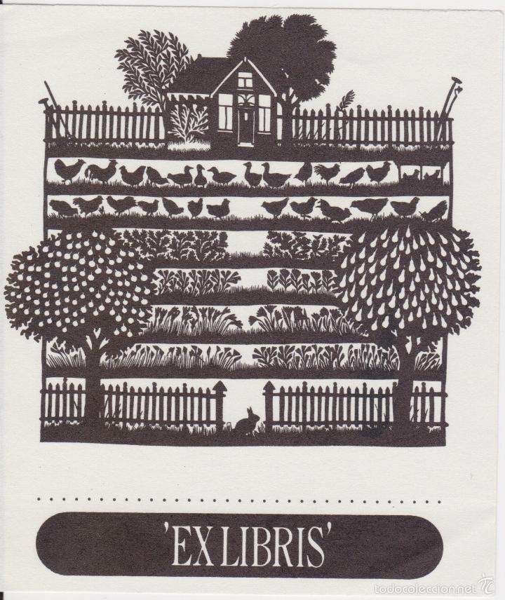 Arte: 12 EXLIBRIS (MEDICINA, FARMACIA, COMERCIO, PINTURA, CABALLOS, PAISAJES, LECTURA, ETC... - Foto 14 - 57305371