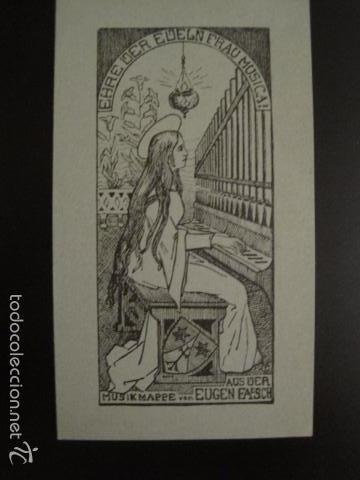 EX LIBRIS - VER FOTOS -(X-1317) (Arte - Ex Libris)