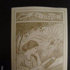 Arte: EX LIBRIS - HERMANN FREUDENBERG - VER FOTOS -(X-1339). Lote 57834645