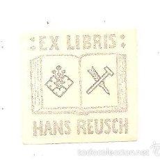 Arte: EX-LIBRIS DE HANS REUSCH. Lote 58738140