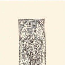 Arte: EXLIBRIS JULIO FERNÁNDEZ SÁEZ PARA MANUEL DA CUNHA ALEGRE OPUS186. 12,50X21 CM. Lote 63030016