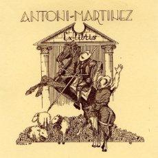 Arte: EXLIBRIS 1947 R. ROSELL PARA ANTONI MARTINEZ. OPUS 16. 9 X 11,50 CM. Lote 63135996