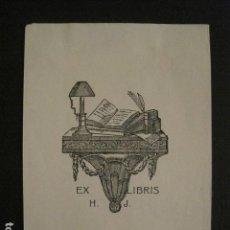 Arte: EX LIBRIS - VER FOTOS Y MEDIDA -(X-1514). Lote 64715351