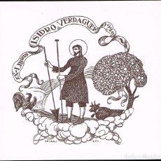 Arte: EX LIBRIS TRIADÓ 1920 PARA ISIDRO VERDAGUER OPUS 251. 11,30X10,60 CM.. Lote 65945530