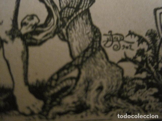 Arte: EX LIBRIS - GERMANS MIQUEL - MODERNISTA -VER FOTOS Y MEDIDA - (X-1563) - Foto 5 - 69271601