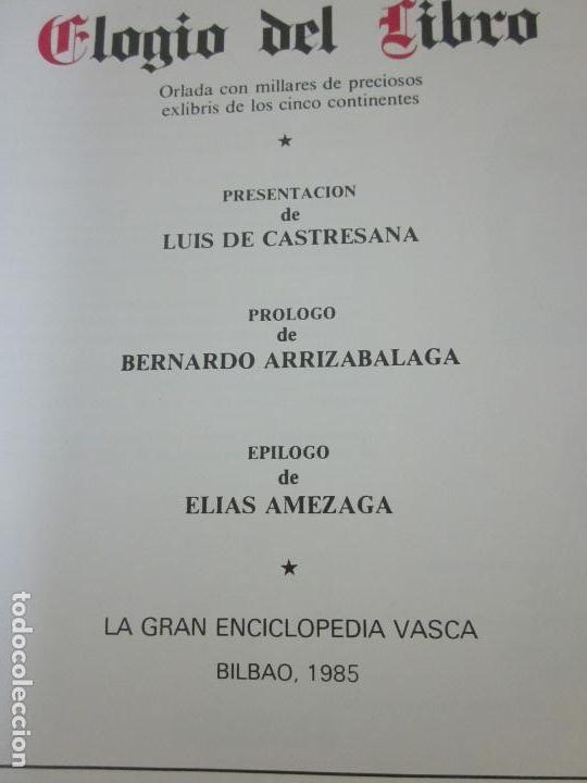 Arte: Raro libro catalogo de exlibris. Librorum liber, 1985, ex libris - Foto 3 - 70412301