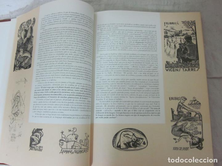 Arte: Raro libro catalogo de exlibris. Librorum liber, 1985, ex libris - Foto 4 - 70412301