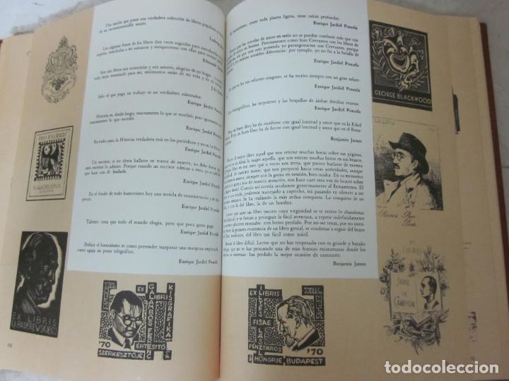 Arte: Raro libro catalogo de exlibris. Librorum liber, 1985, ex libris - Foto 6 - 70412301