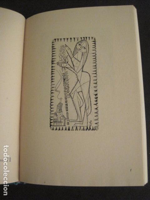 Arte: EX LIBRIS - AEB -X CONGRESO CRACOVIA 1964- LIBRO NUMERADO EXLIBRIS GRABADOS ETC. -VER FOTOS-(X-1583) - Foto 7 - 78879769