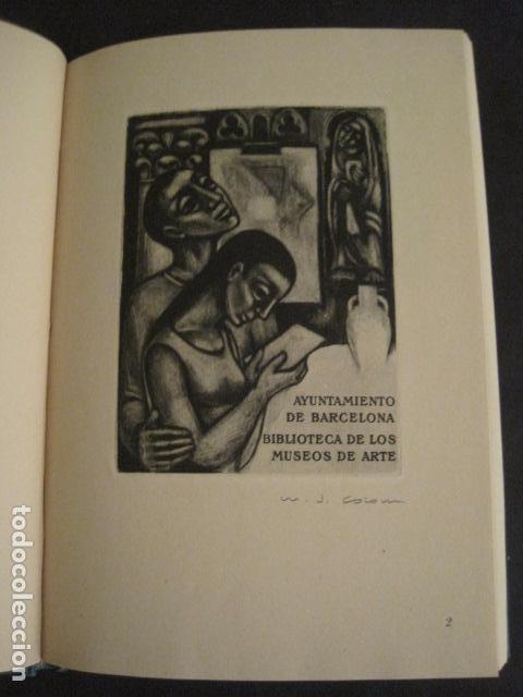 Arte: EX LIBRIS - AEB -X CONGRESO CRACOVIA 1964- LIBRO NUMERADO EXLIBRIS GRABADOS ETC. -VER FOTOS-(X-1583) - Foto 8 - 78879769