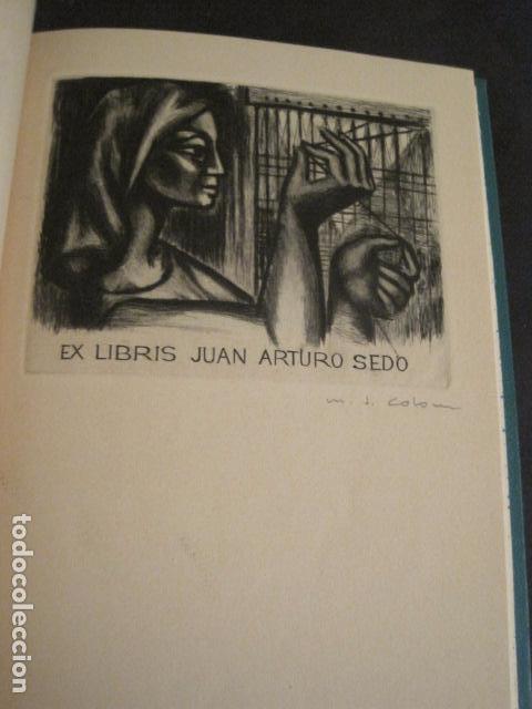 Arte: EX LIBRIS - AEB -X CONGRESO CRACOVIA 1964- LIBRO NUMERADO EXLIBRIS GRABADOS ETC. -VER FOTOS-(X-1583) - Foto 9 - 78879769