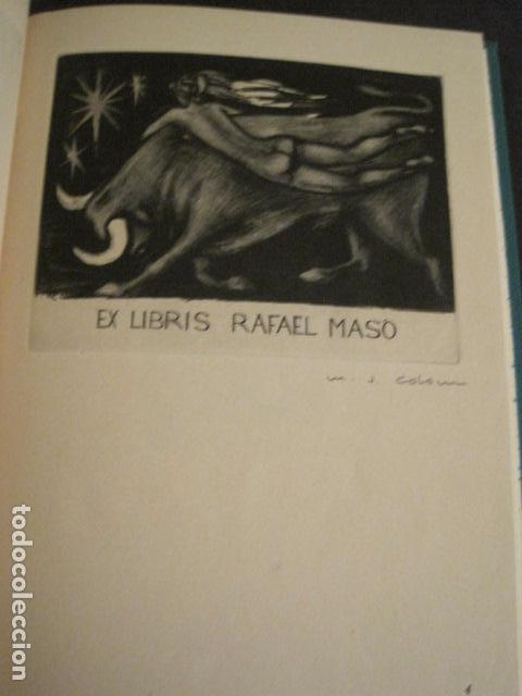 Arte: EX LIBRIS - AEB -X CONGRESO CRACOVIA 1964- LIBRO NUMERADO EXLIBRIS GRABADOS ETC. -VER FOTOS-(X-1583) - Foto 11 - 78879769