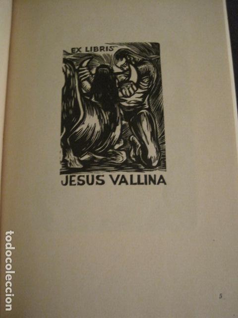 Arte: EX LIBRIS - AEB -X CONGRESO CRACOVIA 1964- LIBRO NUMERADO EXLIBRIS GRABADOS ETC. -VER FOTOS-(X-1583) - Foto 13 - 78879769