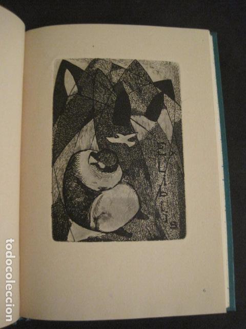 Arte: EX LIBRIS - AEB -X CONGRESO CRACOVIA 1964- LIBRO NUMERADO EXLIBRIS GRABADOS ETC. -VER FOTOS-(X-1583) - Foto 14 - 78879769