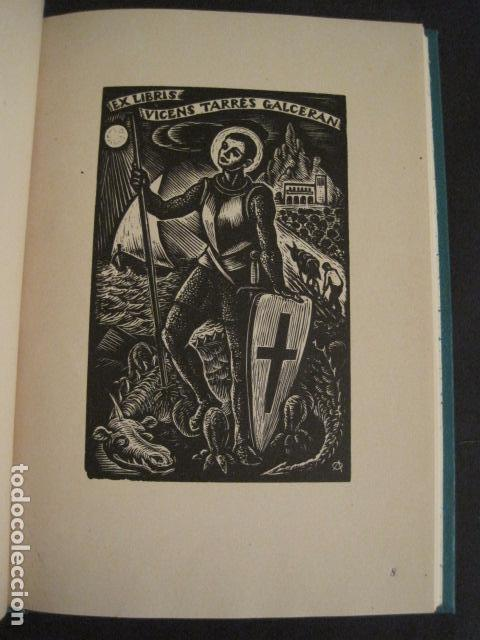 Arte: EX LIBRIS - AEB -X CONGRESO CRACOVIA 1964- LIBRO NUMERADO EXLIBRIS GRABADOS ETC. -VER FOTOS-(X-1583) - Foto 16 - 78879769