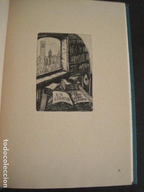 Arte: EX LIBRIS - AEB -X CONGRESO CRACOVIA 1964- LIBRO NUMERADO EXLIBRIS GRABADOS ETC. -VER FOTOS-(X-1583) - Foto 17 - 78879769