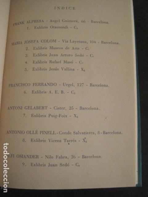 Arte: EX LIBRIS - AEB -X CONGRESO CRACOVIA 1964- LIBRO NUMERADO EXLIBRIS GRABADOS ETC. -VER FOTOS-(X-1583) - Foto 18 - 78879769