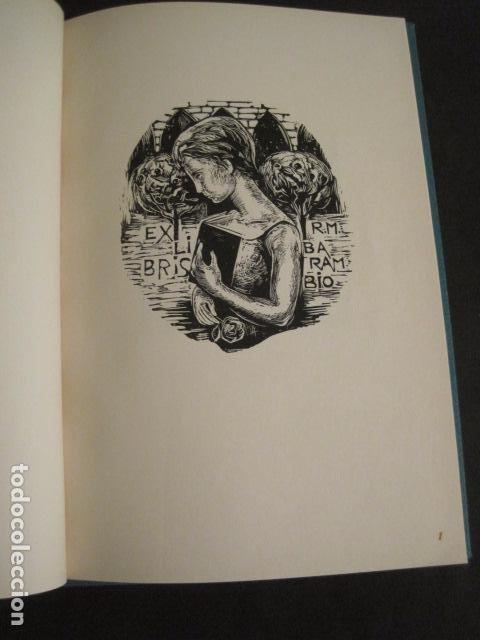 Arte: EX LIBRIS - 8 GRABADORES - VII CONGRESO VIENA 1960- LIBRO EXLIBRIS . -VER FOTOS-(X-1584) - Foto 5 - 78880521