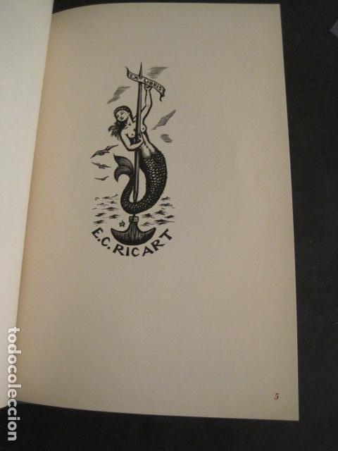Arte: EX LIBRIS - 8 GRABADORES - VII CONGRESO VIENA 1960- LIBRO EXLIBRIS . -VER FOTOS-(X-1584) - Foto 9 - 78880521