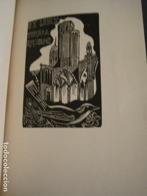 Arte: EX LIBRIS - 8 GRABADORES - VII CONGRESO VIENA 1960- LIBRO EXLIBRIS . -VER FOTOS-(X-1584) - Foto 12 - 78880521