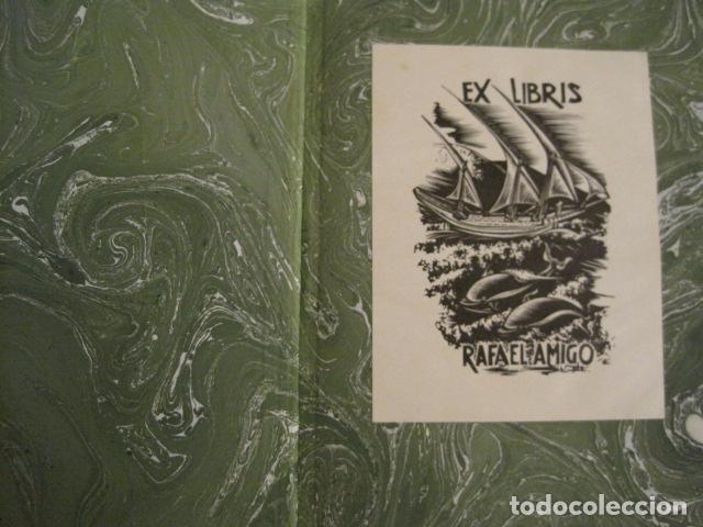 Arte: EX LIBRIS - 8 GRABADORES - VII CONGRESO VIENA 1960- LIBRO EXLIBRIS . -VER FOTOS-(X-1584) - Foto 14 - 78880521
