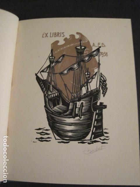 Arte: EX LIBRIS - STVDIVM - CONCURSO AÑO 1958 - LIBRO EXLIBRIS , FIRMAS - ETC... . -VER FOTOS-(X-1586) - Foto 7 - 78889677