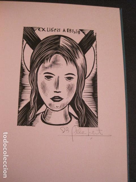 Arte: EX LIBRIS - STVDIVM - CONCURSO AÑO 1958 - LIBRO EXLIBRIS , FIRMAS - ETC... . -VER FOTOS-(X-1586) - Foto 9 - 78889677