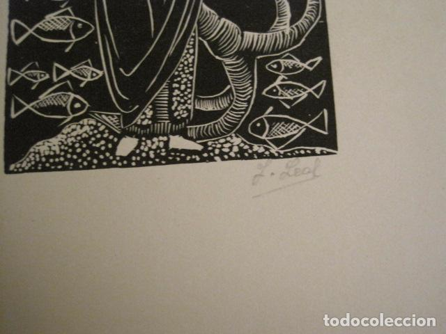 Arte: EX LIBRIS - STVDIVM - CONCURSO AÑO 1958 - LIBRO EXLIBRIS , FIRMAS - ETC... . -VER FOTOS-(X-1586) - Foto 14 - 78889677