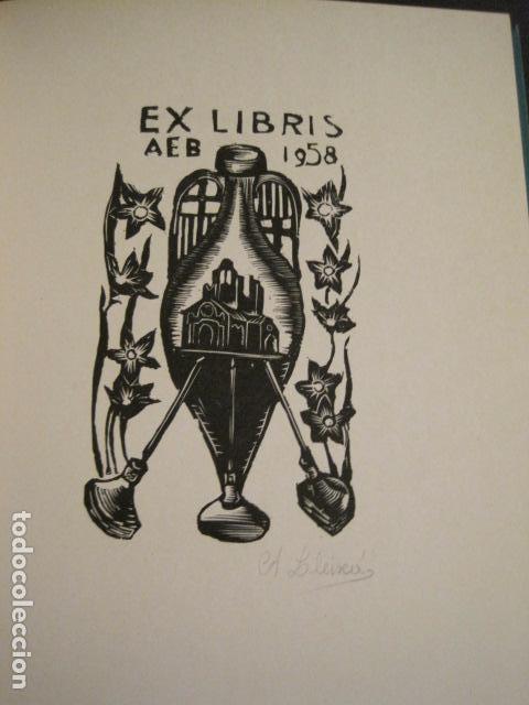Arte: EX LIBRIS - STVDIVM - CONCURSO AÑO 1958 - LIBRO EXLIBRIS , FIRMAS - ETC... . -VER FOTOS-(X-1586) - Foto 15 - 78889677