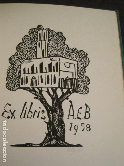 Arte: EX LIBRIS - STVDIVM - CONCURSO AÑO 1958 - LIBRO EXLIBRIS , FIRMAS - ETC... . -VER FOTOS-(X-1586) - Foto 22 - 78889677